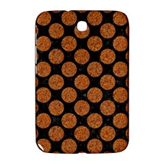 Circles2 Black Marble & Rusted Metal (r) Samsung Galaxy Note 8 0 N5100 Hardshell Case
