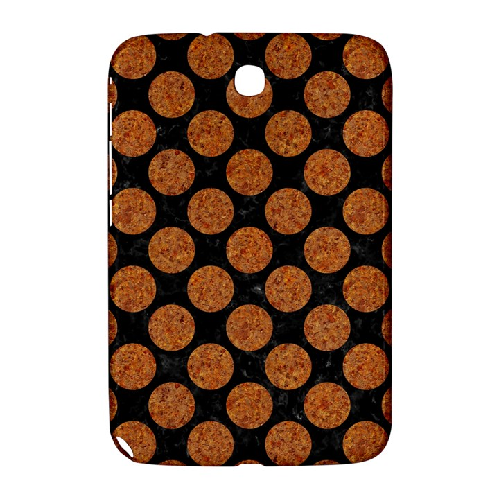 CIRCLES2 BLACK MARBLE & RUSTED METAL (R) Samsung Galaxy Note 8.0 N5100 Hardshell Case