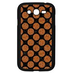 CIRCLES2 BLACK MARBLE & RUSTED METAL (R) Samsung Galaxy Grand DUOS I9082 Case (Black) Front
