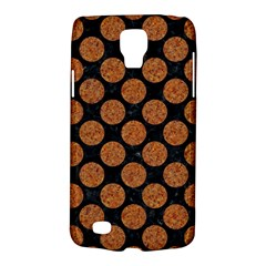 Circles2 Black Marble & Rusted Metal (r) Galaxy S4 Active