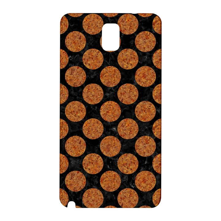 CIRCLES2 BLACK MARBLE & RUSTED METAL (R) Samsung Galaxy Note 3 N9005 Hardshell Back Case