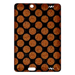 Circles2 Black Marble & Rusted Metal (r) Amazon Kindle Fire Hd (2013) Hardshell Case