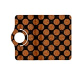 CIRCLES2 BLACK MARBLE & RUSTED METAL (R) Kindle Fire HD (2013) Flip 360 Case Front