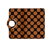 CIRCLES2 BLACK MARBLE & RUSTED METAL (R) Kindle Fire HDX 8.9  Flip 360 Case Front