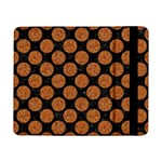CIRCLES2 BLACK MARBLE & RUSTED METAL (R) Samsung Galaxy Tab Pro 8.4  Flip Case Front