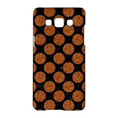 Circles2 Black Marble & Rusted Metal (r) Samsung Galaxy A5 Hardshell Case