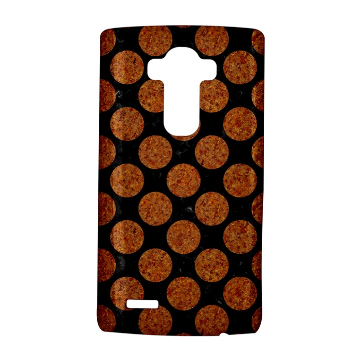 CIRCLES2 BLACK MARBLE & RUSTED METAL (R) LG G4 Hardshell Case