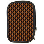 CIRCLES3 BLACK MARBLE & RUSTED METAL Compact Camera Cases Front