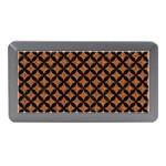 CIRCLES3 BLACK MARBLE & RUSTED METAL Memory Card Reader (Mini) Front