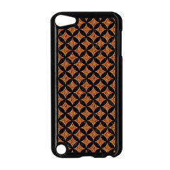 Circles3 Black Marble & Rusted Metal Apple Ipod Touch 5 Case (black)