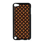 CIRCLES3 BLACK MARBLE & RUSTED METAL Apple iPod Touch 5 Case (Black) Front