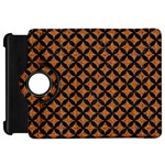 CIRCLES3 BLACK MARBLE & RUSTED METAL Kindle Fire HD 7  Front