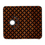 CIRCLES3 BLACK MARBLE & RUSTED METAL Galaxy S3 (Flip/Folio) Front