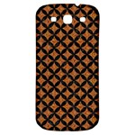 CIRCLES3 BLACK MARBLE & RUSTED METAL Samsung Galaxy S3 S III Classic Hardshell Back Case Front