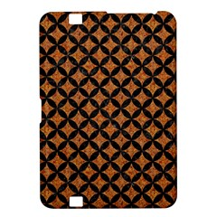 Circles3 Black Marble & Rusted Metal Kindle Fire Hd 8 9