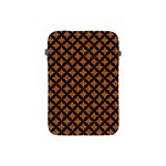 CIRCLES3 BLACK MARBLE & RUSTED METAL Apple iPad Mini Protective Soft Cases Front