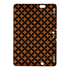 Circles3 Black Marble & Rusted Metal Kindle Fire Hdx 8 9  Hardshell Case
