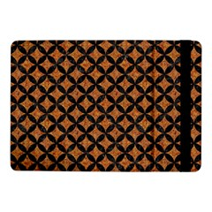 Circles3 Black Marble & Rusted Metal Samsung Galaxy Tab Pro 10 1  Flip Case