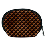 CIRCLES3 BLACK MARBLE & RUSTED METAL Accessory Pouches (Medium)  Back
