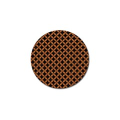 Circles3 Black Marble & Rusted Metal (r) Golf Ball Marker (10 Pack)