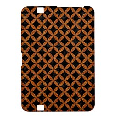 Circles3 Black Marble & Rusted Metal (r) Kindle Fire Hd 8 9