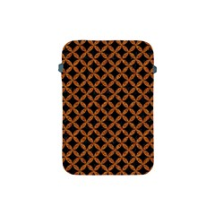 Circles3 Black Marble & Rusted Metal (r) Apple Ipad Mini Protective Soft Cases