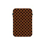 CIRCLES3 BLACK MARBLE & RUSTED METAL (R) Apple iPad Mini Protective Soft Cases Front