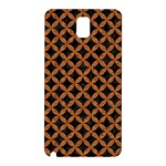 CIRCLES3 BLACK MARBLE & RUSTED METAL (R) Samsung Galaxy Note 3 N9005 Hardshell Back Case Front