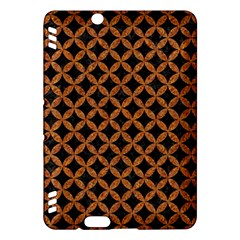 Circles3 Black Marble & Rusted Metal (r) Kindle Fire Hdx Hardshell Case