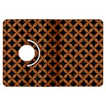 CIRCLES3 BLACK MARBLE & RUSTED METAL (R) Kindle Fire HDX Flip 360 Case Front
