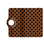 CIRCLES3 BLACK MARBLE & RUSTED METAL (R) Kindle Fire HDX 8.9  Flip 360 Case Front