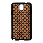 CIRCLES3 BLACK MARBLE & RUSTED METAL (R) Samsung Galaxy Note 3 Neo Hardshell Case (Black) Front
