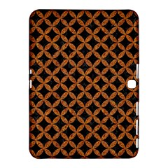 Circles3 Black Marble & Rusted Metal (r) Samsung Galaxy Tab 4 (10 1 ) Hardshell Case
