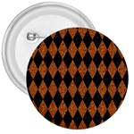 DIAMOND1 BLACK MARBLE & RUSTED METAL 3  Buttons Front