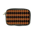 DIAMOND1 BLACK MARBLE & RUSTED METAL Coin Purse Front