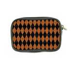 DIAMOND1 BLACK MARBLE & RUSTED METAL Coin Purse Back
