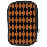 DIAMOND1 BLACK MARBLE & RUSTED METAL Compact Camera Cases Front