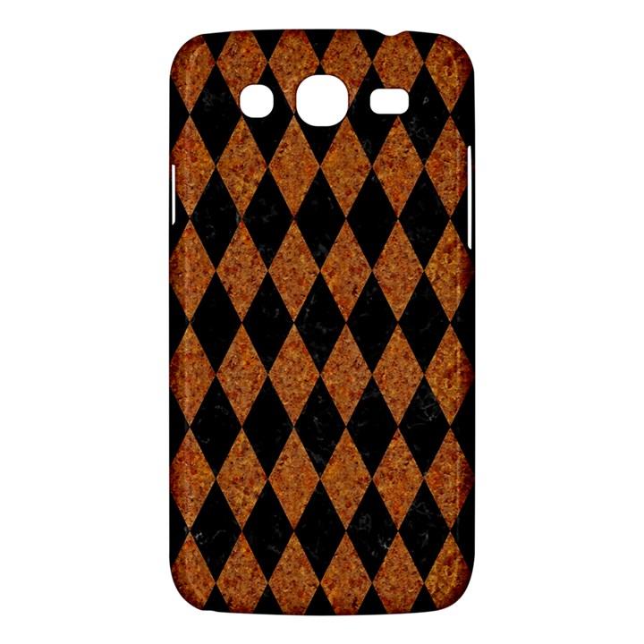 DIAMOND1 BLACK MARBLE & RUSTED METAL Samsung Galaxy Mega 5.8 I9152 Hardshell Case