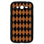 DIAMOND1 BLACK MARBLE & RUSTED METAL Samsung Galaxy Grand DUOS I9082 Case (Black) Front
