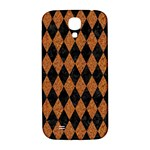 DIAMOND1 BLACK MARBLE & RUSTED METAL Samsung Galaxy S4 I9500/I9505  Hardshell Back Case Front