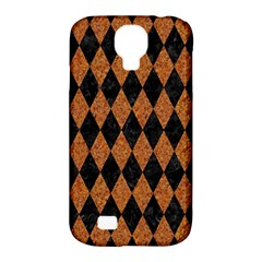 Diamond1 Black Marble & Rusted Metal Samsung Galaxy S4 Classic Hardshell Case (pc+silicone)