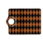 DIAMOND1 BLACK MARBLE & RUSTED METAL Kindle Fire HD (2013) Flip 360 Case Front