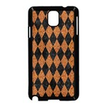 DIAMOND1 BLACK MARBLE & RUSTED METAL Samsung Galaxy Note 3 Neo Hardshell Case (Black) Front