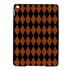 Diamond1 Black Marble & Rusted Metal Ipad Air 2 Hardshell Cases