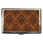 DAMASK1 BLACK MARBLE & RUSTED METAL Cigarette Money Cases Front