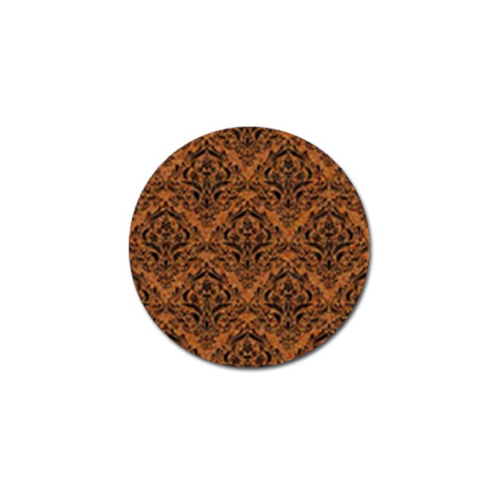 DAMASK1 BLACK MARBLE & RUSTED METAL Golf Ball Marker (10 pack)