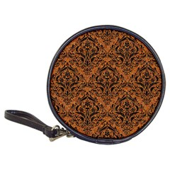 Damask1 Black Marble & Rusted Metal Classic 20 Cd Wallets