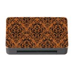 DAMASK1 BLACK MARBLE & RUSTED METAL Memory Card Reader with CF Front