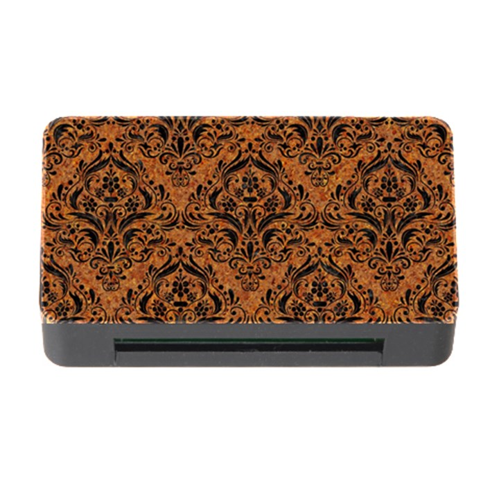DAMASK1 BLACK MARBLE & RUSTED METAL Memory Card Reader with CF