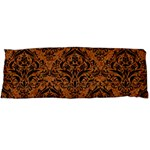 DAMASK1 BLACK MARBLE & RUSTED METAL Body Pillow Case Dakimakura (Two Sides) Front